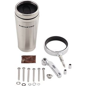 Kuryakyn Stainless Mug and Drink Holder for Perch Mount