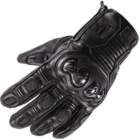 Tourmaster Horizon Line Trailbreak Waterproof Leather Gloves