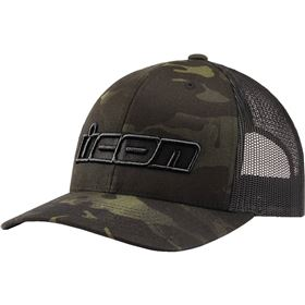 Icon MC Punch Snapback Trucker Hat