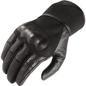Icon Tarmac Leather/Textile Gloves