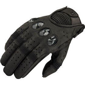 Icon Outdrive Vented Leather Gloves