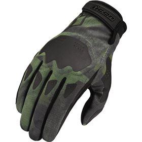 Icon Hooligan Battlescar Vented Textile Gloves