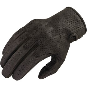 Icon Airform Vented Leather Gloves