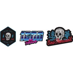 Icon Retroskull Stickers
