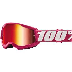 100 Percent Strata 2 Fletcher Youth Goggles