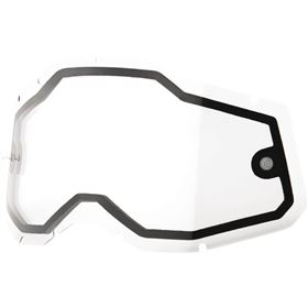 100 Percent Accuri 2/Racecraft 2/Strata 2 Dual Replacement Goggle Lens