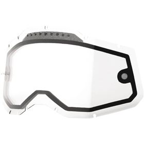 100 Percent Accuri 2/Racecraft 2/Strata 2 Dual Vented Replacement Goggle Lens