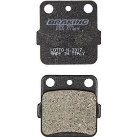 Braking 654 Semi Metallic Brake Pads