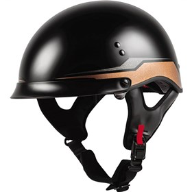 GMAX HH-65 Source Full Dressed Half Helmet
