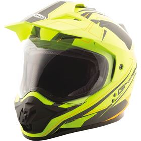 GMAX GM-11D Expedition Hi-Viz Dual Sport Helmet