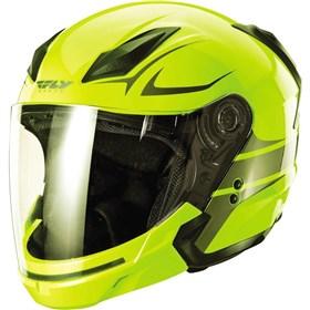 Fly Racing Tourist Vista Hi-Viz Open Face Modular Helmet