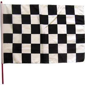 Stiffy Checkered Flag Replacement Whip Flag