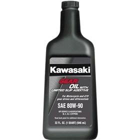 Kawasaki 80W90 Gear Oil With Limited Slip Additive