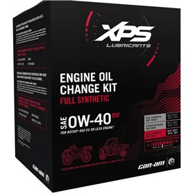 Can-Am Accessories XPS 4T 0W40 Full Synthetic Oil Change Kit For Rotax 450 Or Less Engine