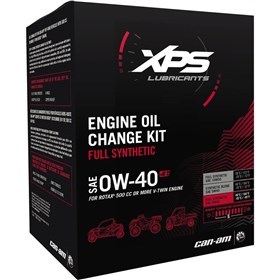 Can-Am Accessories XPS 4T 0W40 Full Synthetic Oil Change Kit For Rotax 500 Or More Engine