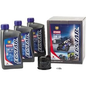 Suzuki Ecstar 3 Quart R9000 10W40 Full Synthetic Oil Change Kit