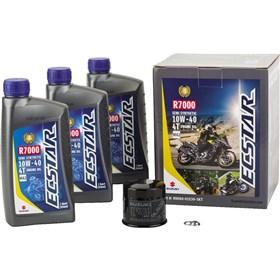 Suzuki Ecstar 3 Quart R7000 10W40 Semi-Synthetic Oil Change Kit