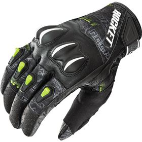 Joe Rocket Cyntek Street Style Hi-Viz Leather/Textile Gloves