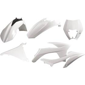 Polisport DGP Enduro Plastic Kit With Headlight Mask
