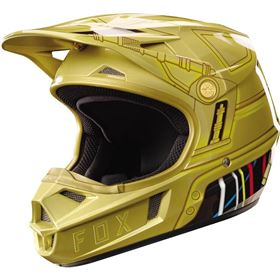 Fox Racing V1 C3PO Limited Edition Youth Helmet