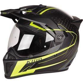 Klim Krios Vanquish Hi-Viz Full Face Helmet
