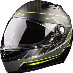 Klim K1R Karbon Discern Hi-Viz Full Face Helmet