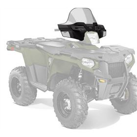 Polaris Lock & Ride Windshield - Mid 15.5in.