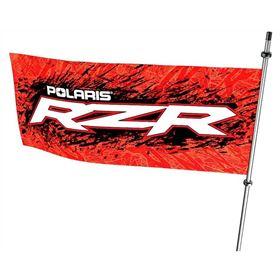 Polaris RZR Whip Flag