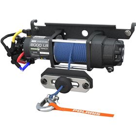 Polaris Pro HD 6,000lbs. Winch with Rapid Rope Recovery