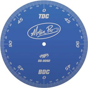 Motion Pro Ignition Timing Degree Wheel