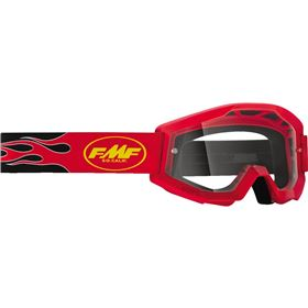 FMF Racing PowerCore Flame Youth Goggles