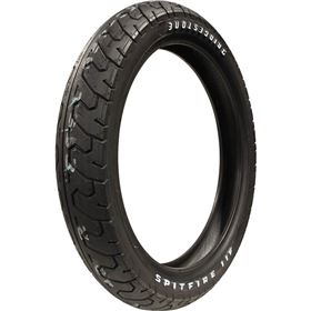Bridgestone Spitfire S11 Sport Touring Raised White Letters Front Tire