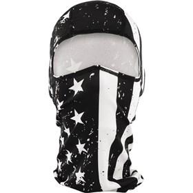 Zan Headgear Black And White Flag Polyester Balaclava