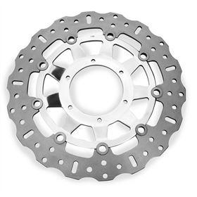 EBC Contoured Polished Front Brake Rotor