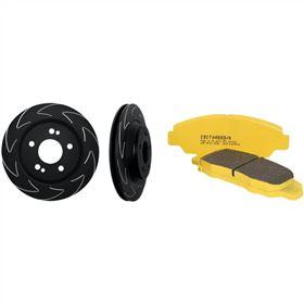 EBC BSD Blade Rotor And Yellow Brake Pad Kit