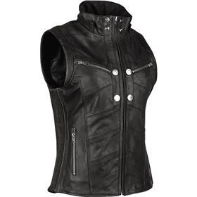 Speed And Strength Hell's Belles Women's Leather Vest
