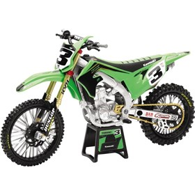 New Ray Toys Eli Tomac 2019 Race Team Kawasaki KX450 1:12 Scale Motorcycle Replica