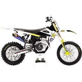 New Ray Toys Jason Anderson 2020 Rockstar Husqvarna Race Team 1:12 Scale Motorcycle Replica