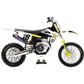 New Ray Toys Zach Osborne 2020 Rockstar Husqvarna Race Team 1:12 Scale Motorcycle Replica