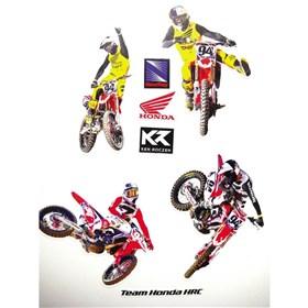 New Ray Toys Team Honda HRC Ken Roczen Wall Graphics