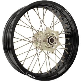 Warp 9 Racing 36 Hole Complete Supermoto Front Wheel