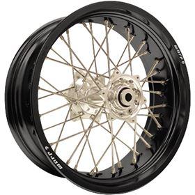 Warp 9 Racing 32 Hole Complete Rear Supermoto Wheel