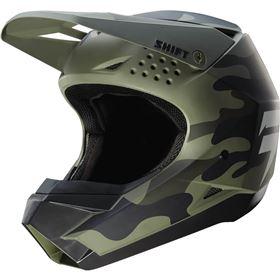 Shift Racing White Label Camo Helmet