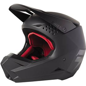 Shift Racing White Label Blac Youth Helmet