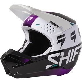 Shift Racing White Label Gloss Youth Helmet