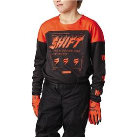Shift Racing White Label Flame Limited Edition Youth Jersey