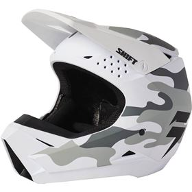 Shift Racing White Label Camo Youth Helmet