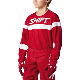 Shift Racing White Label Haut Youth Jersey