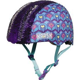 Krash Feather Flip Sequin Youth Bicycle Helmet