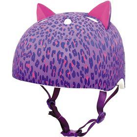 Krash Leopard Kitty Youth Bicycle Helmet